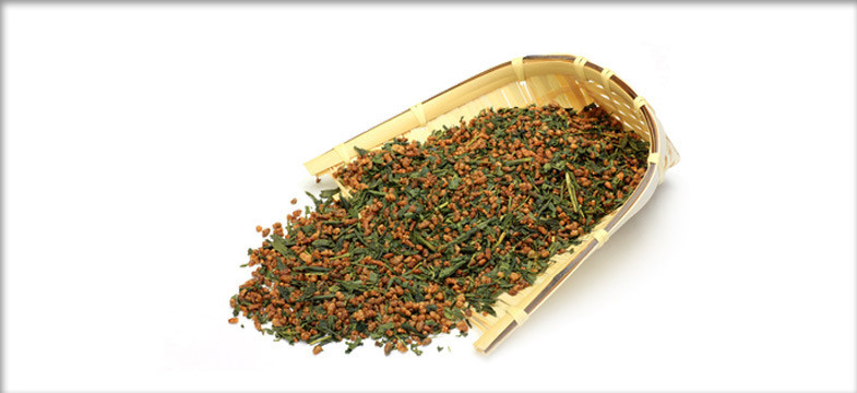 O chá verde Genmaicha