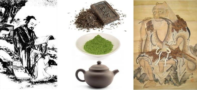 Chá verde – A sua história na China